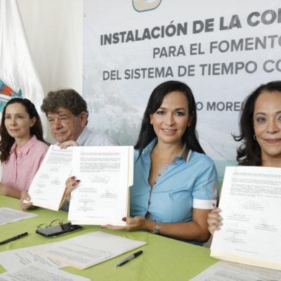 Instalan Comisión Consultiva para fomentar y controlar los tiempos compartidos en Puerto Morelos