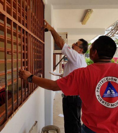 Gobierno de Puerto Morelos emprende acciones de prevención para cualquier contingencia meteorológica
