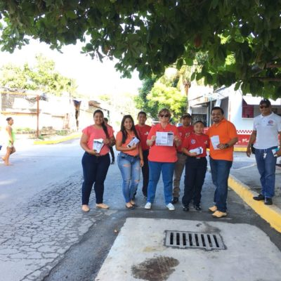 """Ponen en marcha en Puerto Morelos la campaña """"Mi Meta es mi Vida"""" para prevenir el suicidio"""
