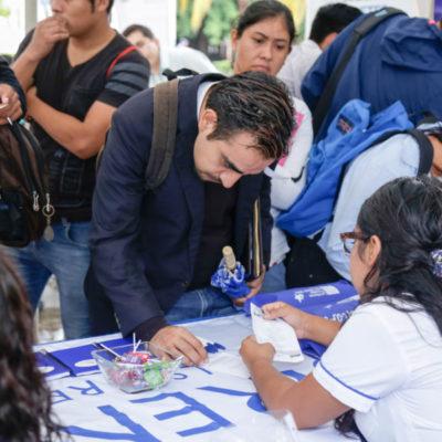 Solidaridad ofrece mayor oferta laboral para sectores vulnerables, reconocen autoridades municipales