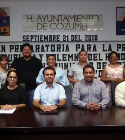 Encabeza Pedro Joaquín reunión preparatoria para Toma de Protesta e Instalación del nuevo Ayuntamiento de Cozumel