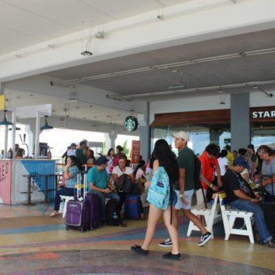 Disminuye ocupación de Terminal Marítima de Playa del Carmen por temporada baja