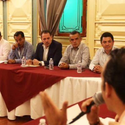Asiste Pedro Joaquín Delbouis a Primera Reunión Nacional de Alcaldes Pueblos Mágicos 2018