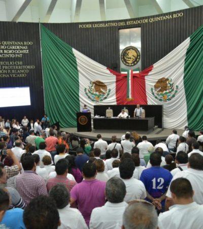 Piden a Carlos Joaquín recortar presupuesto del Congreso del Estado por falta de compromiso con los ciudadanos