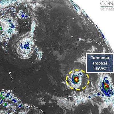 Protección Civil vigila la evolución del la tormenta tropical 'Isaac' y pide a población no hacer caso de rumores en redes sociales