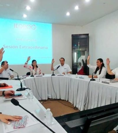 Ieqroo determinará lineamientos para diputados que busquen reelección en el proceso electoral 2019