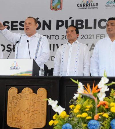 Ratifica XV Legislatura, trabajo coordinado y de respeto para municipios de QR