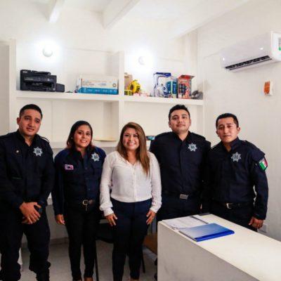 Entregan instalaciones de Seguridad Pública y Tránsito completamente remodeladas en Tulum
