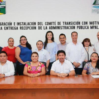Instalan Romi Dzul y Víctor Mas Comité de Transición para el proceso de entrega-recepción en Tulum