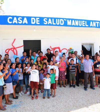 Entregan la primera Casa de Salud en Manuel Antonio Ay, en la Zona de Transición de Tulum