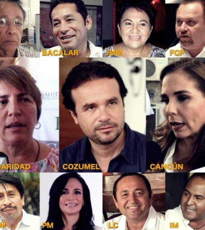 TODO LISTO PARA LOS RELEVOS EN LOS MUNICIPIOS: Definidos los horarios de asunciones de alcaldes de Quintana Roo este domingo