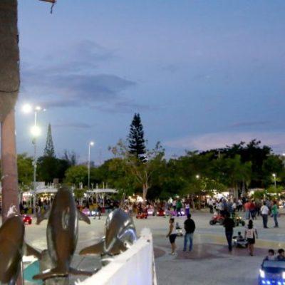 Empresarios de Cancún crean zona segura en el parque Las Palapas; con arte y transformación urbana buscan que los índices delictivos disminuyan
