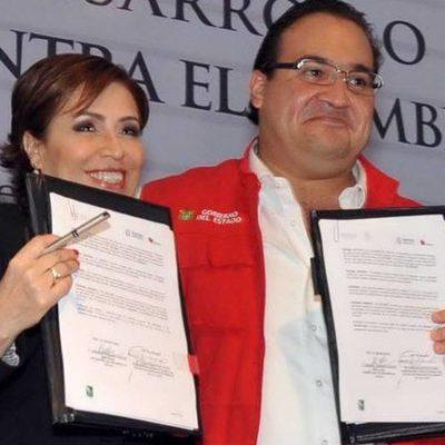 Vinculan 'empresas fantasma' a Javier Duarte con Rosario Robles; desviaron al menos 164 mdp de Sedatu