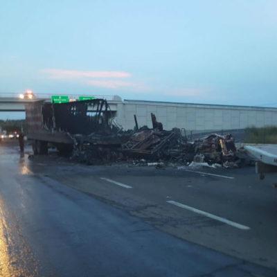 ARDE SUR DE GUANAJUATO: Ocho muertos, un herido, bloqueos carreteros y autos incendiados