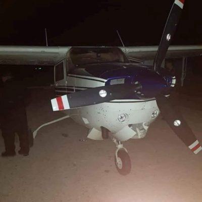 Ejército y Marina redoblan seguridad en la frontera sur de QR tras aterrizaje de una avioneta con droga en Belice
