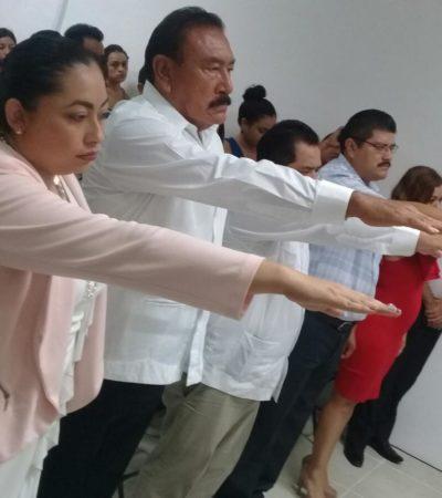 CAMBIO DE MANDO EN BACALAR: Repiten funcionarios de Zetina Aguiluz