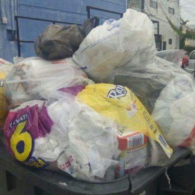De las mil 200 toneladas de basura generadas en Cancún, un 15% son popotes y plástico, afirma Francisco Zubirán, titular de Desarrollo Urbano