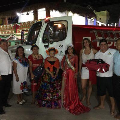 Ciudadanos de Holbox se organizan para tener bomberos