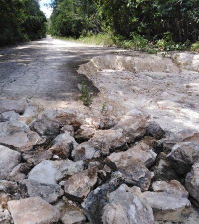REDIRECCIONAN RECURSOS DESTINADO PARA ICHKABAL: Tanto los ejidatarios como la Asociación de Hoteles señalan que no se aplicó una partida de 94 mdp para el camino