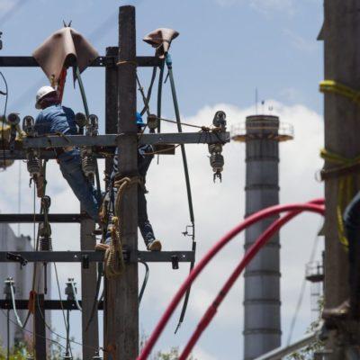 Duplica CFE costo de las tarifas eléctricas para la industria en la península Yucatán en lo que va del año