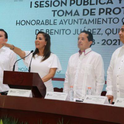 ¿LLAMADO A LA CENSURA DE NUEVA ALCALDESA?: Culpa Mara Lezama a medios de fomentar el 'estrellato' de criminales y plantea cambiarle el nombre al municipio