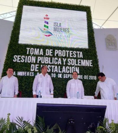 Inicia Juan Carrillo segundo periodo en Isla Mujeres
