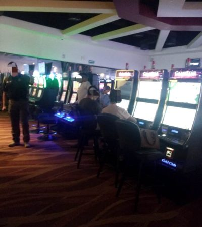 Asegura PGR casino ilegal en Playa del Carmen