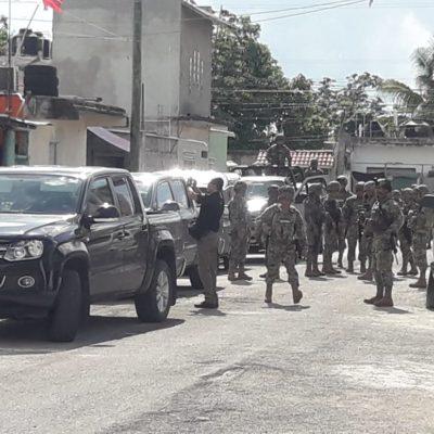 CATEAN PGR Y MARINOS CASA EN COZUMEL: Cuatro detenidos durante operativo en presunta 'cocina' de 'crack' en la isla