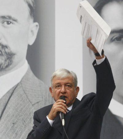 Califica AMLO de 'puro circo' la sentencia a Javier Duarte; en tres años el ex Gobernador quedaría libre