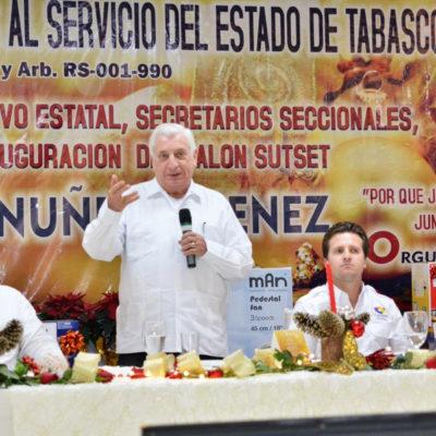 Benefician gobiernos en turno a sindicatos de burócratas en Tabasco; en 10 años han recibido más de 70 mdp y casi 100 mil boletos para partidos de beisbol