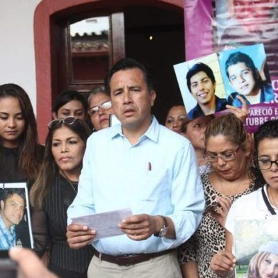 Declarará Cuitláhuac García 'emergencia humanitaria' en Veracruz; revela FGE hallazgo de 166 cuerpos en fosas clandestinas