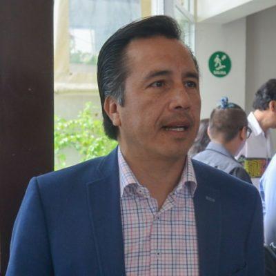 Remata Yunes Linares los bienes de Veracruz, denuncia el gobernador electo Cuitláhuac García