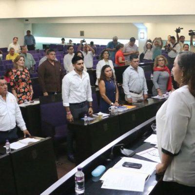Retiene PRI mayoría en Congreso de Campeche con 12 diputados contra 11 de Morena; 12 más se reparten entre 5 bancadas