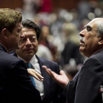 Acuerdan diputados reducir el número de comisiones en el Congreso; Morena se queda con la mitad