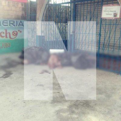 CRUENTO INICIO DEL MES PATRIO EN CANCÚN: Ejecutan a balazos a 2 en bar 'Arre Lulú' de la Avenida Las Torres y hallan bolsas con descuartizados al final de la Portillo