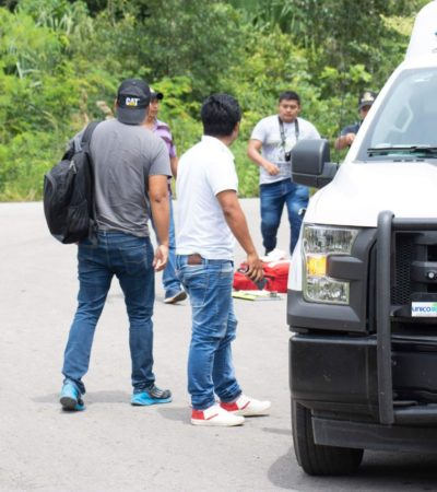 Con dos balazos, encuentran ejecutado en José María Morelos; dicen vecinos que era uno de los sobrevivientes de la balacera del sábado en Vallermoso