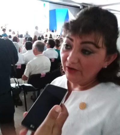 Critica diputada Eugenia Solís a los coordinadores de AMLO; asegura que no permitirá que nadie pierda su empleo en los recortes laborales de la administración federal