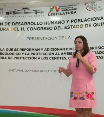 Destacan importancia de reformar ley para proteger cenotes en Quintana Roo