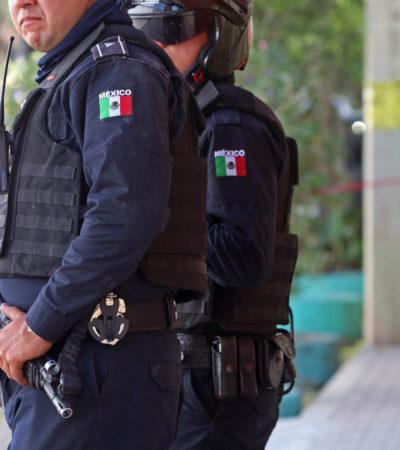 Huyen falsos policías de su propio atraco en Chiapas luego de hacer estallar un artefacto explosivo
