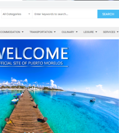 Puerto Morelos estrena sitio web con el fin de potenciar al sector comercial a nivel local, nacional e internacional
