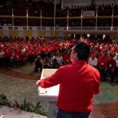 Da la espalda gobernador de Campeche a AMLO; fracasará, dice, y priistas no le tendrán consideración alguna