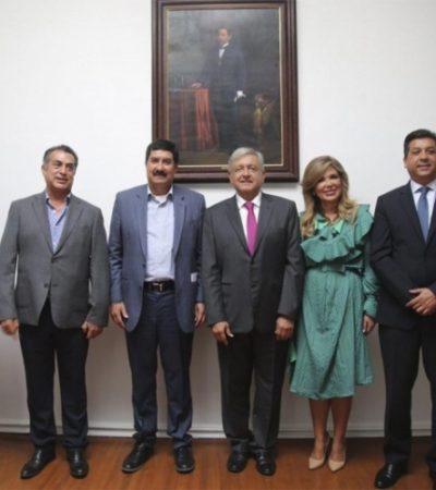 Acuerdan López Obrador y gobernadores bajar 20% ISR y 8% IVA en la frontera norte