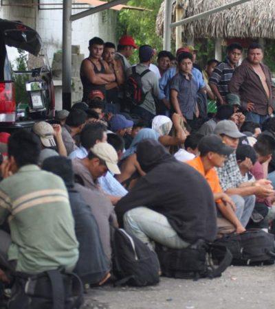 Denuncian migrantes ataque y redada 'salvaje' de la Policía Federal y del INM en Veracruz