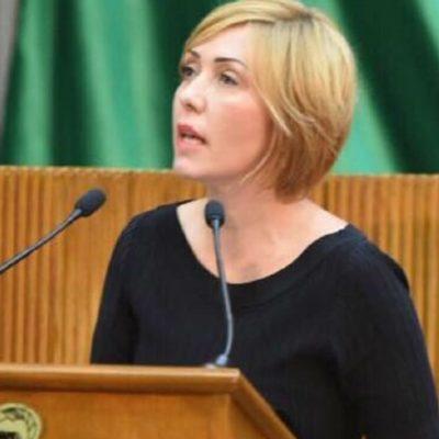Denuncia diputada morenista del Congreso de NL violencia política por foto sexual trucada