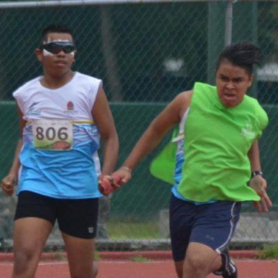 Cierre espectacular de paratletismo en la Paralimpiada Nacional 2018; QR obtiene dos medallas de oro, una de plata y otra de bronce