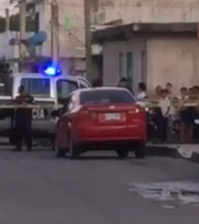 BALACERA ROMPE LA CALMA EN COZUMEL: Presunto intento de ejecución desencadena persecución con fuego cruzado