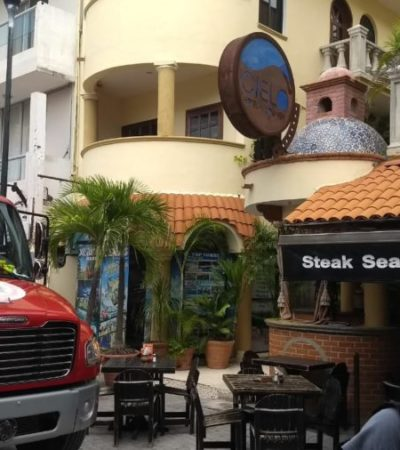 Explota tanque de gas en hotel de la zona turística de Playa del Carmen