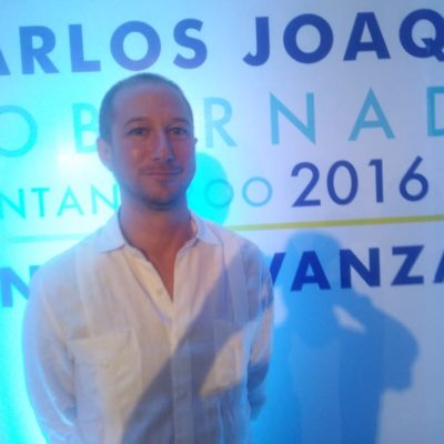 Hoteleros destacan acciones de Carlos Joaquín en temas de seguridad y acciones que abonan al repunte turístico en Tulum