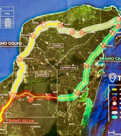 Presentan proyecto del Tren Maya en la Cámara de Diputados