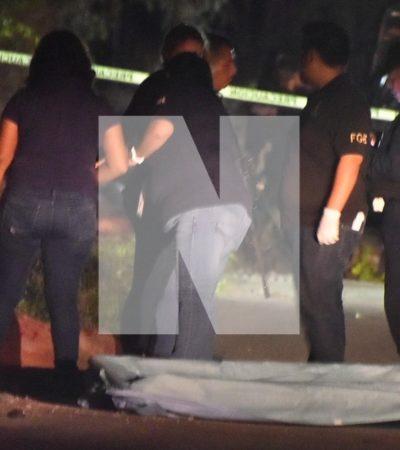BRUTAL ASESINATO EN LA 252: Matan a machetazos a un hombre en plena vía pública por una aparente riña en Cancún